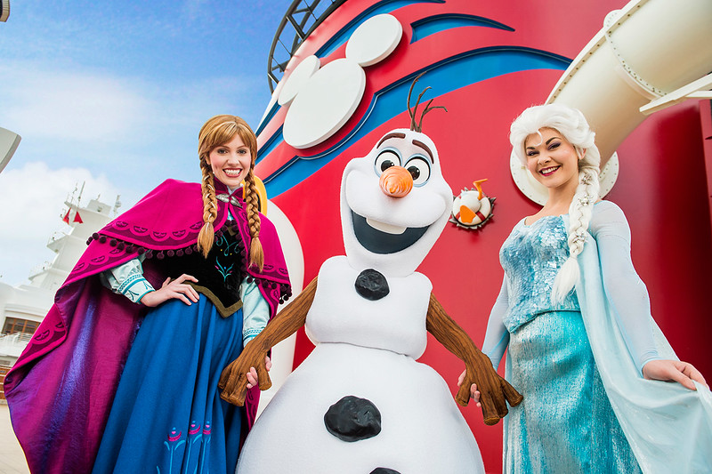 FROZEN fun returns once again to Disney Cruise Line… IN SUMMER