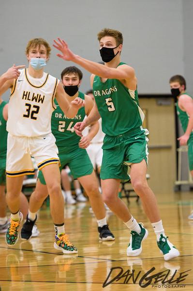 Dragons Boys Basketball vs HLWW