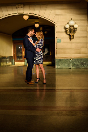 NNK - Amanda and Harry - Engagement - Hoboken Train Station (19 of 77)