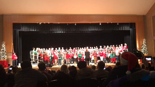 Monee Elementary Winter Music Revue 2016