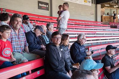 Mens Club at ball game