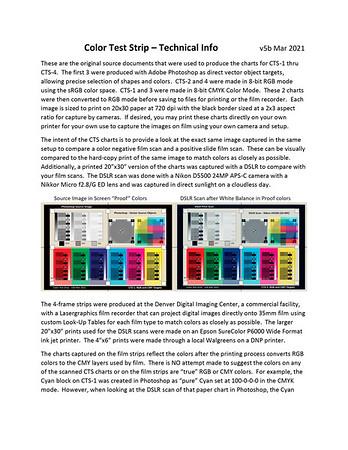 Read Me - Tech Info