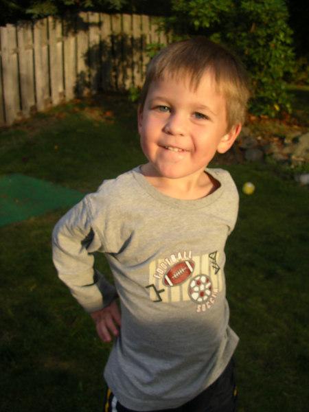 Big guy Lucas.   Oct 2006