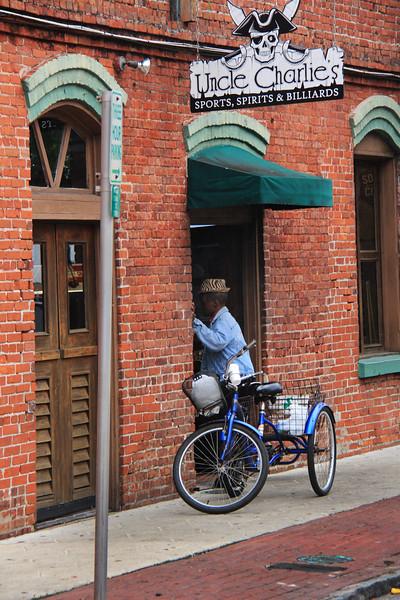 Bike and old man Fernandino Beach.jpg