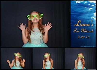 Liana's Bat Mitzvah Photo Booth