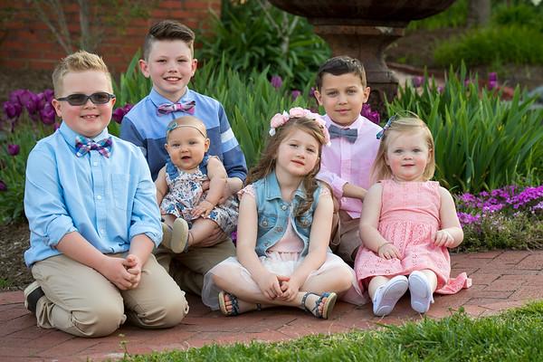 Family photos in Pell Gardens