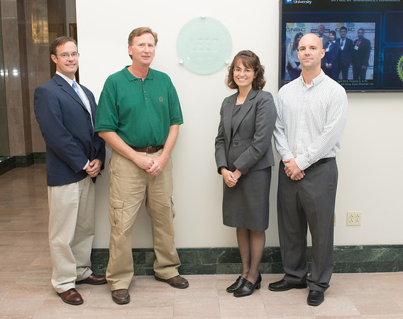 LEED award for College of Business 2013
