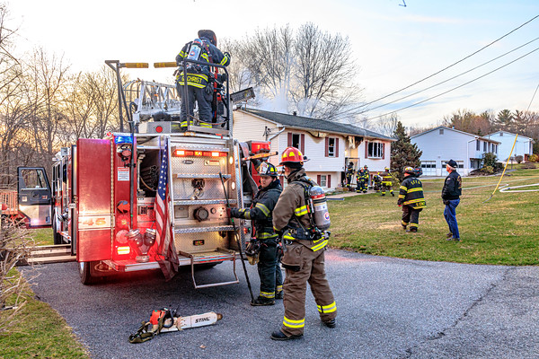 Residential Structure Fire -  Sunset Drive - East Fishkill Fire District - 3/22/2020