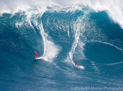 Surfing - Jaws (Pe'ahi), Maui 2021