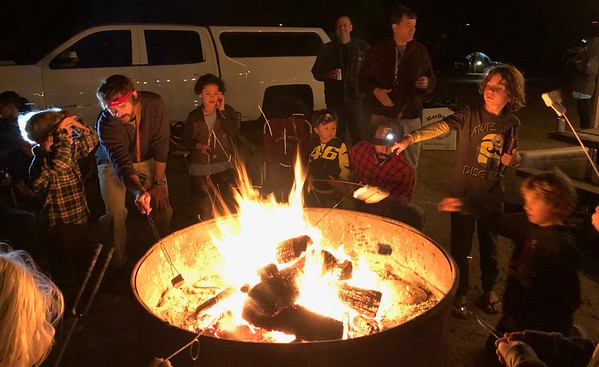 Marymount Father/VIP & Son Campout 2019