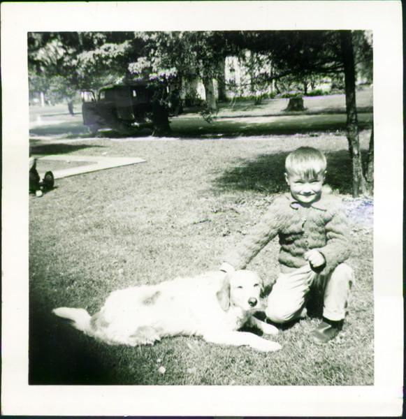 Nicky Bondar about 1952, Peru, Indiana