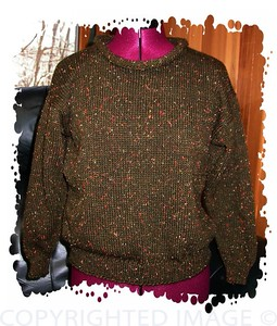 Hobbie's initial sweater ©2006 Hobbie's House of Wizard Wear