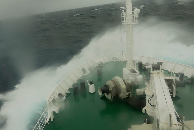 Day 9 - crossing Drake's Passage to the Falkland Islands