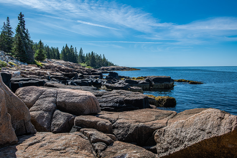 Schoodic Peninsula & Point - Acadia National Park, Maine - 2019