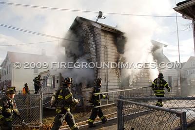 Dekalb Ave. Fire (Bridgeport, CT) 12/16/09