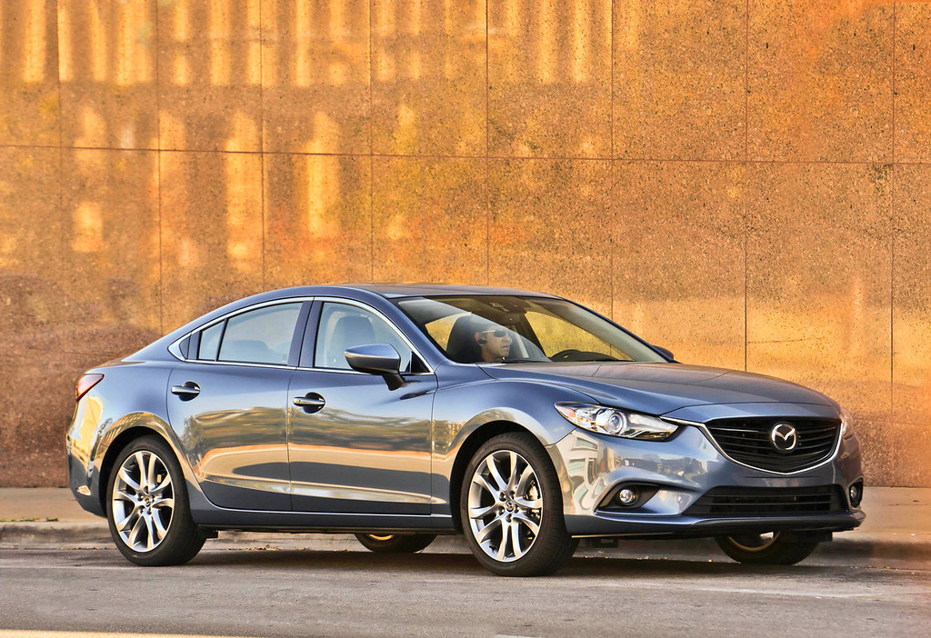 . This undated image made available by Mazda shows the 2014 Mazda6 Grand Touring model. (AP Photo/Mazda)