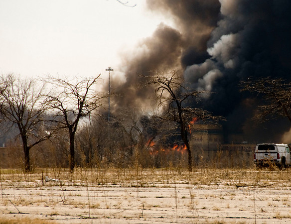 Joliet - March 20, 2009 - 4-Alarm blaze at the Empress Casino