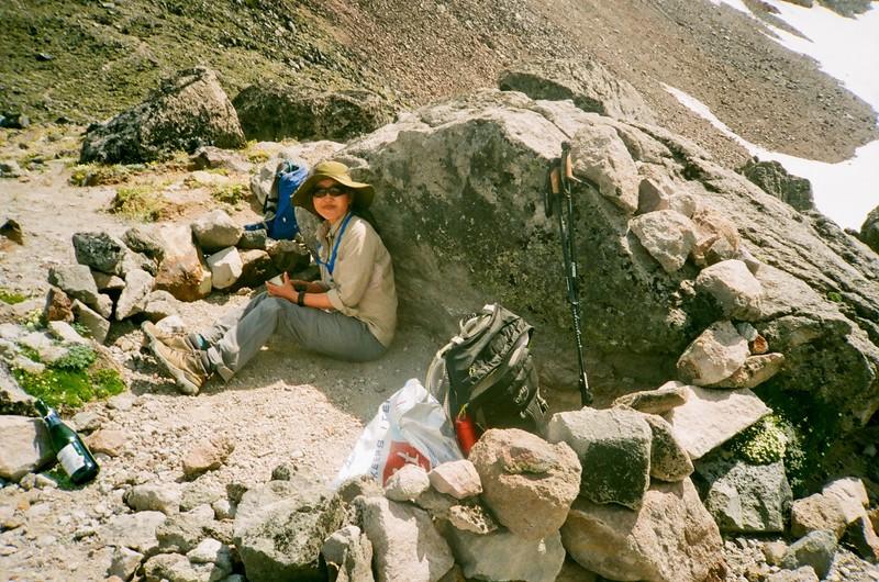 A Hike up Barrett Spur. Olympus XA. Fujicolor Industrial.