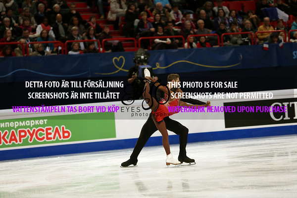 European Championships 2015 Pairs SP