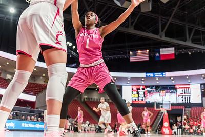 2020-Feb-18 NCAA Women's Basketball | UH v CIN