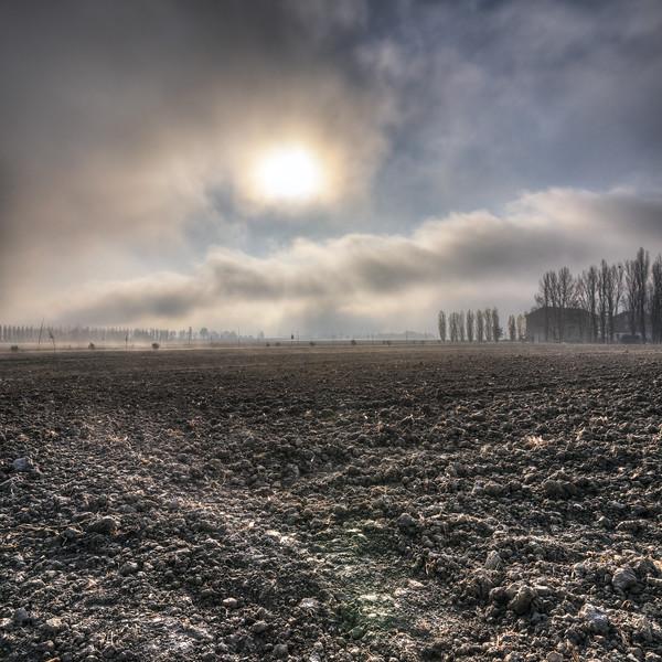 Sunrise - Nonantola, Modena, Italy - November 17, 2011