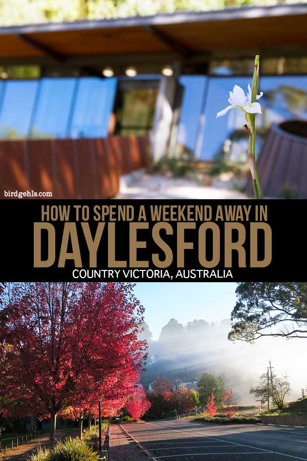 Fancy a weekend away in Daylesford or Hepburn Springs in Victoria? Here are a few things you can get up to as far as eating, drinking and general activities are concerned. / Luxury Travel Australia / #SeeAustralia / #VisitVictoria / Daylesford and Macedon Ranges / Hepburn Bathhouse/
