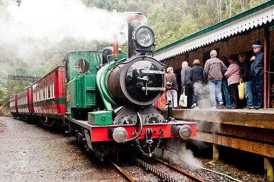 West Coast Wilderness Railway, Strahan