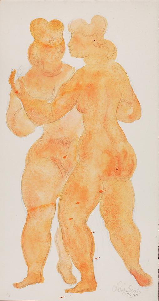 "Chaim Gross, ""Girl With Mirror"" (1976)"
