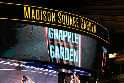 Nov 27 2016 Grapple at the Garden in NYC vs Columbia Lions