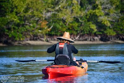 9AM Heart of Rookery Bay Kayak Tour - Sherman