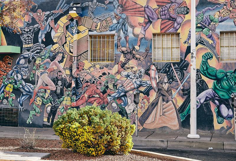 Route 66 - Street Art - Nob Hill, Albuquerque,