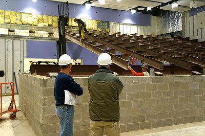 Jochum Performing Arts Center Renovation (March 3 - March 9, 2013)