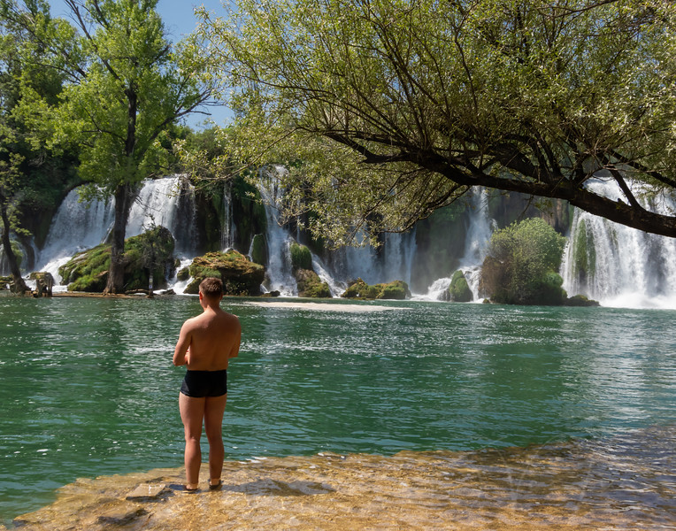 Kravica waterfalls in Bosnia and Herzegovnia