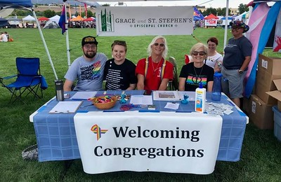 Grace at COS PrideFest  - July 13-14, 2019