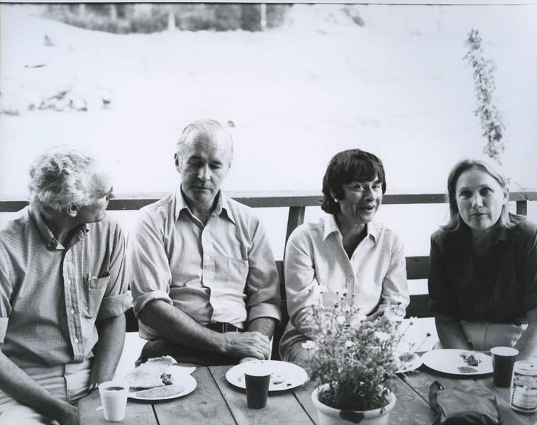 1982 - Blaire Fuller, Henry Carlisle, Olga Carlisle, ?.jpeg