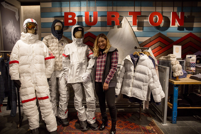 2018 Burton Olympic U.S. Snowboard Team uniform unveiling in New York City Photo: U.S. Ski & Snowboard