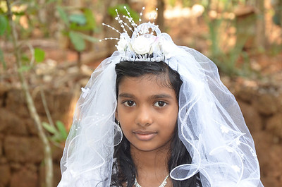 First Holy Communion - Sreya George 🔒