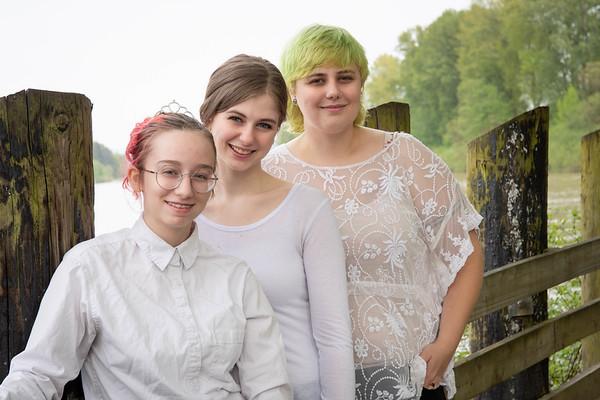Garrett and the girls