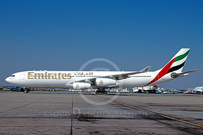 Emirates Airline Airbus A340 Airliner Pictures