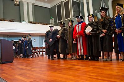 Hooding Ceremony Spring 2015