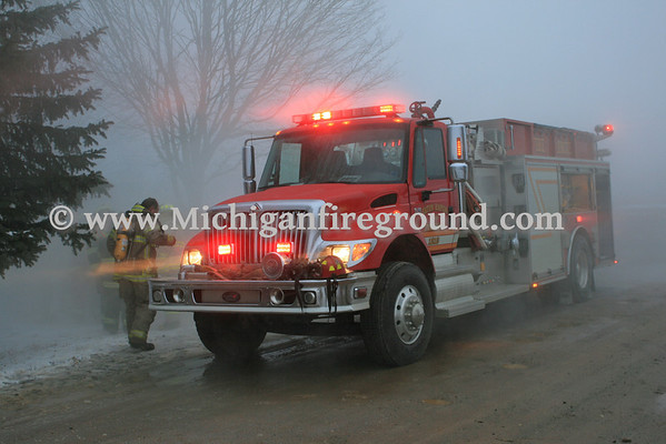 3/18/13 - Eaton Rapids Twp firefighter training
