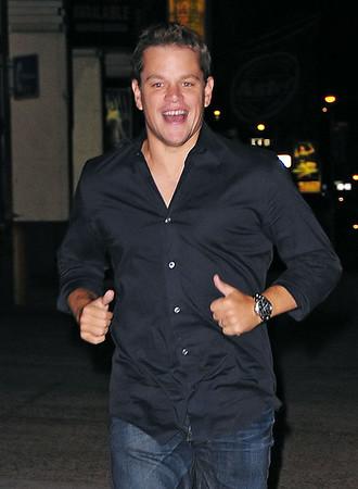 2009-07-20 - Matt Damon