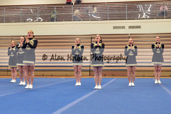 Cheer at LCC - Corunna Varsity - Round 1 - Jan 25