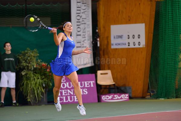 1/2 Finale 20éme Open de Tennis féminin du Touquet
