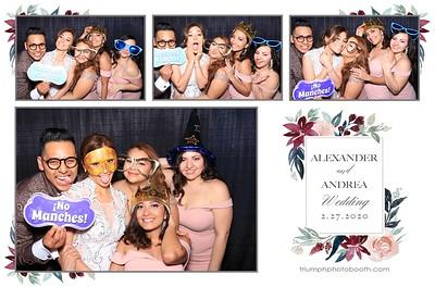 2/27/20 - Alexander & Andrea Wedding