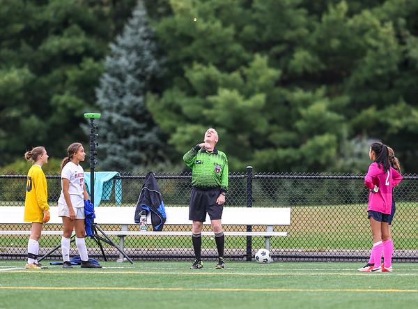 Freshman Girls Soccer vs Danbury