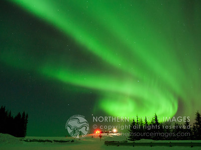 2012-02-18 Aurora & Rockets Explode