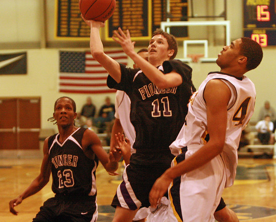 Pioneer at DCDS basketball 2008