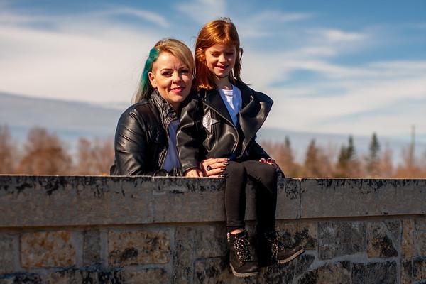 Jennifer and Berlyn Fall 2020