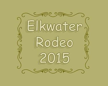 Elkwater Rodeo 2015